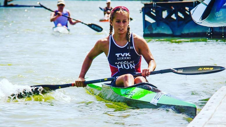 Fanni Bodolai (HUN) at the Quadrathlon in Samorin (SVK) 2016) (c) Sportsclub Slovakia