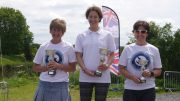 Top Girls at the Brigg Bomber Quadrathlon (GBR) 2017 (c) Martin Heywood