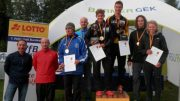 German Cup Podium at Quadrathlon in Ratscher (GER) 2017 (c) S. Teichert